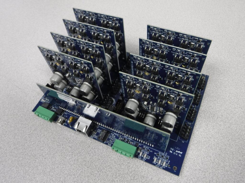8-Axis Stepper Motor Controller